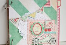 Scrapbooking > Mini-albums / by Tracie Alger