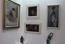 Inside The Gallery / Based in Bridge of Allan, near Stirling, the gallery is open Monday to Saturday 10am - 5pm.