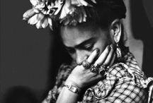 Frida Kahlo / barwna kobieta