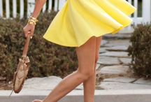 yellow dress project