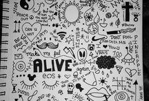 Desenhos de Caderno tumblr