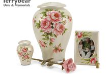 Pink Cremation Urns / Terrybear products are available at your local funeral home.