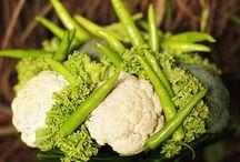 zeleninové kytice