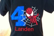 Spiderman b-day party