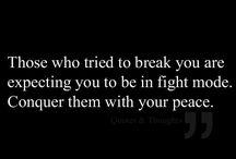 Inner strength  / Quotes to raise inner strength