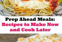 PREP AHEAD MEALS