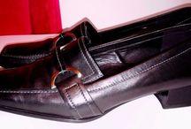 Ecco Womens Black Leather11 Shoes Size 8 EU 39 #ECCO 22
