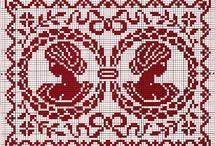 Cross stitch, Mamiloucreations