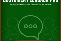 Customer Feedback Pro Extension / Do you know what your customers think about your store? Now you can get your customers feedback through this extension and understand their taste and needs. This will also help you formulate a better marketing and business strategy for gaining better yields.