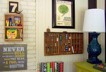 craft room ideas / by Nicole Deyton