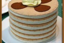 felt foods - pancakes