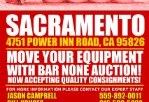 Top 5 Items in Sacramento - Bar None Auction / Images of the top 5 heavy equipment, commercial truck, construction and industrial tool items to be auctioned by Bar None Auction in Sacramento, California.