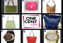 FABULOUS FRIDAY April 18 at 10 PM ET at OneCentchic / Great Watches and Bags from Dooney & Bourke, Milly, Kate Spade,  and Michael Kors