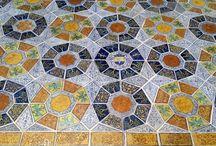 Spectacular tile floors