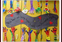 Bulletin Board/Classroom Door/Classroom Decor/Classroom management / by Cari Franco