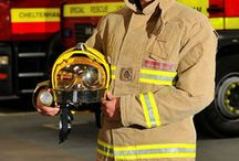 Moodboars Firefighter