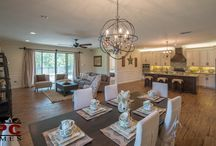 Wide Open Spaces / Whether you entertain or want more room space for your family, an open concept room provides endless design and functional opportunities for your home.
