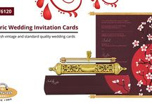 ROYAL SCROLL CARDS / Comprehensive Collection of Royal Scroll Invitations Cards