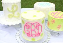 Monogram Cakes and Sweets! / Featuring the best Cakes and designs with monograms!