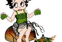 Betty Boop St. Patrick Day