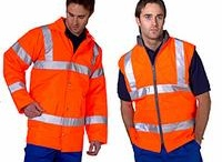 Workwear / High visibility and commercial workwear.