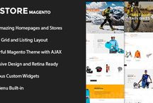 SK Store - Unique Magento Theme for Sports Stores / SK Store is widely regarded as our premium outstanding Magento theme, specially designed for sport and athletes webshop. Moreover, it also extends your limit with the ability to fit with different online stores for selling skateboards, mountain bikes, stunt rider, life coach and so on. As Sk Store Magento has the advantage of sporty and modern look, it promises to bring about the most pleasant customer experience when they go shopping online.