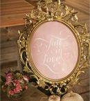 Розовый с золотым