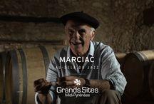 """Films de découverte des Grands Sites Midi-Pyrénées / Les Grands Sites Midi-Pyrénées racontés, à travers le témoignage et le regard d'un personnage attaché à """"son"""" territoire."""