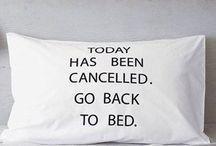Slapen / Bed en linnen