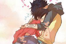 ♡Law and Luffy♡xx♡Yaoi♡xx♡One Piece♡