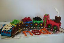 Fletcher's train party