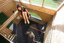 庭 子どもプレイハウス