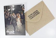 Thank you wedding cards