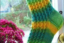 Knitted socks / Socks