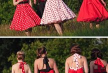 50s + Pin-up Theme Outfits