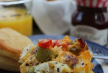 breakfast casserole / by Kathy Ha