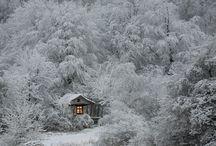 isolated fairy tale houses