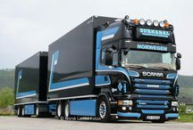 Scania trucks / by John Coulter