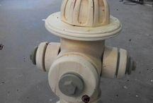 Hidrante de Madeira
