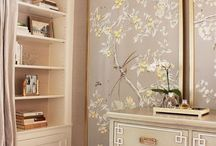 CARRIE WALLPAPER PANELS / FRAMES AROUND WALLPAPER PANEL