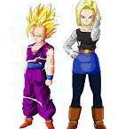 gohan y androide NO°18