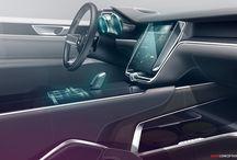 car interior sketches