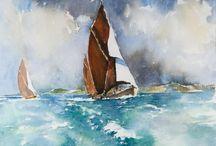 Marine art