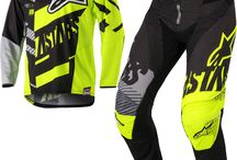 Fluorescent Neon Motocross Trends - be seen on and off the track! / Be bold with these flo looks :)