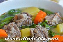soup, soto rawon