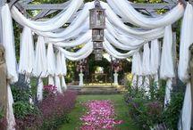 Wedding garden / Wedding garden ideas