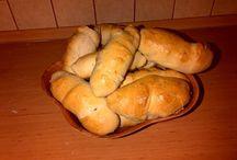moje wytwory / pieczone, gotowane, smażone, często robione razem z synem :)