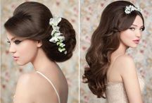 bridal hair / by Magalie Leger