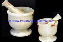 ONYX MORTAR PESTLE WHITE ONYX CRUSHING GRINDING MEDICINES HERBS SEEDS KITCHEN HOME DECOR GIFTS