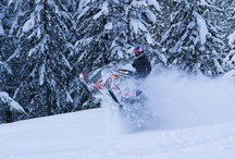 Snowmobiling the Backcountry / by Travelers Snowmobiles